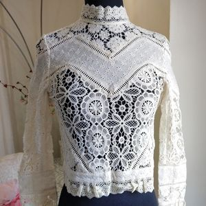 🍒NWT🍒 SPELL IMPERIAL BLOUSE XXS